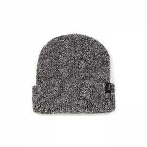 Heist Beanie black grey heather